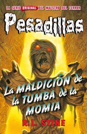Portada de Pesadillas 4:la Maldicion De La Tumba De La Momia