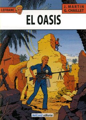 Portada de Lefranc Nº 7: El Oasis