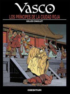 Portada de Vasco Nº 12: Los Principes De La Ciudad Roja