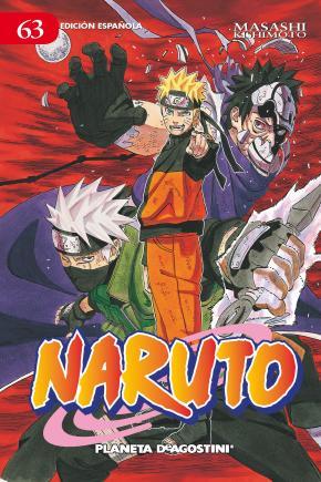 Portada de Naruto Nº 63 (de 72) (pda)