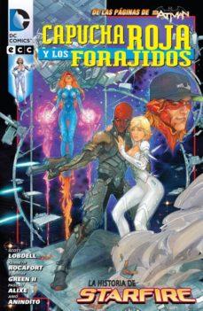 Portada de Capucha Roja Y Los Forajidos: La Historia De Starfire