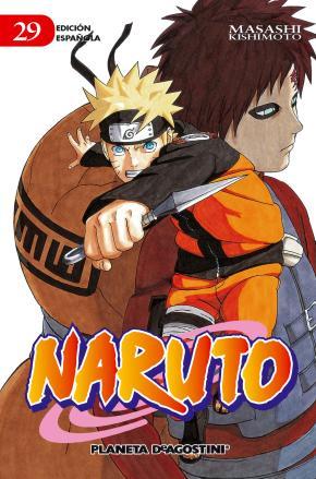 Portada de Naruto Nº 29 (de 72)(pda)