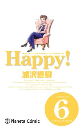 Portada de Happy! Nº 06
