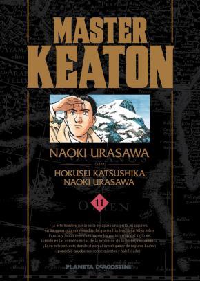 Portada de Master Keaton Nº 11