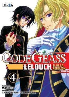 Portada de Code Geass: Lelouch, El De La Rebelion Nº 4
