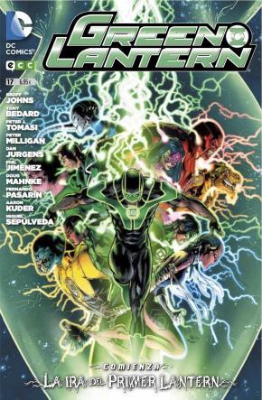 Portada de Green Lantern Num. 17