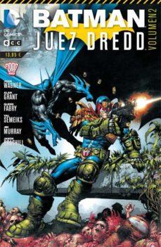 Portada de Batman/juez Dredd Num. 02