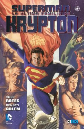 Portada de Superman: La Ultima Familia De Krypton