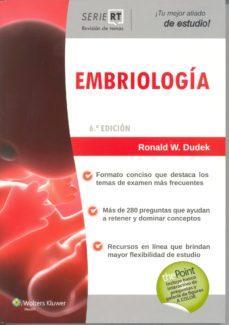 Portada de Serie Revision De Temas: Embriologia (6ª Ed.)