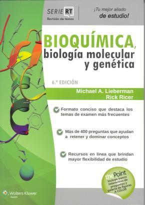 Portada de Serie Revision De Temas: Bioquimica, Biologia Molecular Y Genetica (6ª Ed.)