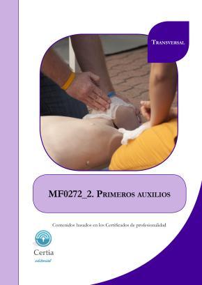 Portada de Mf0272 Primeros Auxilios (i.b.d.)