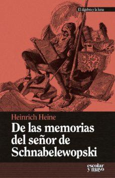 Portada de De Las Memorias Del Señor De Schnabelewopski