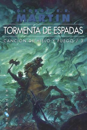 Portada de Tormenta De Espadas (Ed. Bolsillo Omnium) (Saga Cancion De Hielo Y Fuego 3)