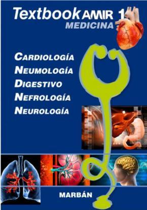 Portada de Textbook Amir Medicina 1 Cardiologia, Neumologia, Digestivo Nefro Logia Y Neurologia.