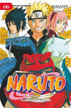 Portada de Naruto Nº 66 (de 72) (pda)