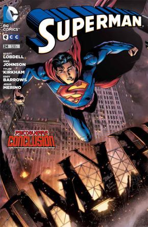 Portada de Superman Nº 24