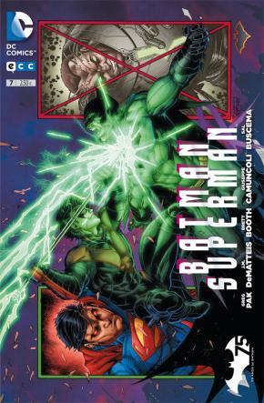 Portada de Batman/superman Num. 07