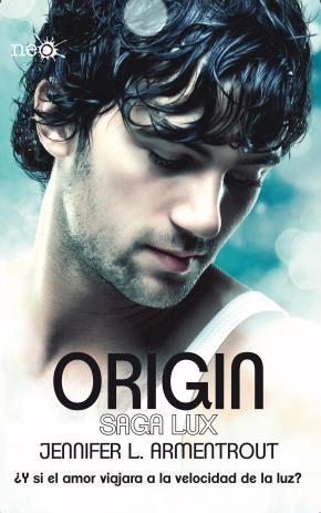 Portada de Origin (saga Lux Iv)