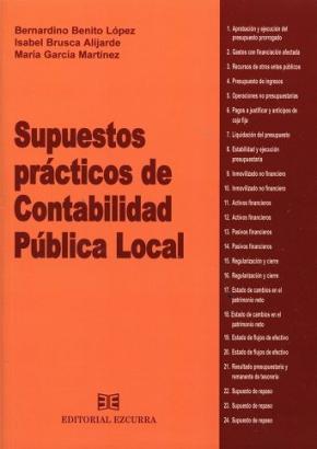 Portada de Supuestos Practicos De Contabilidad Publica Local