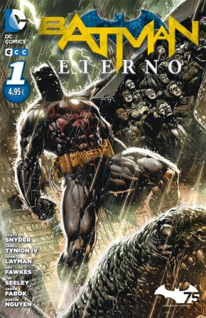 Portada de Batman Eterno Num. 01