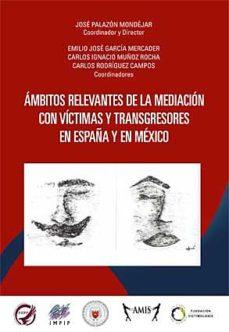 Portada de Ambitos Relevantes De La Mediacion Con Victimas Y Transgresores En España Y En Mexico