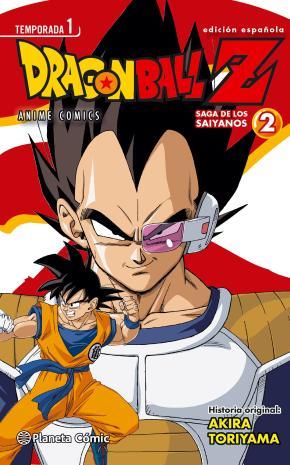 Portada de Dragon Ball Z Anime Series Saiyan Nº02/05
