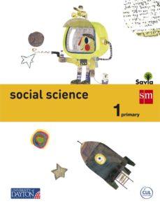 Portada de Social Science 1º Educacion Primaria Savia 2015