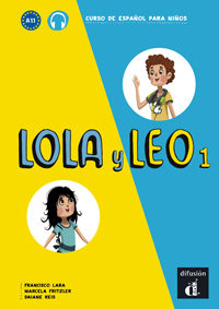 Portada de Lola Y Leo 1 – Libro Del Alumno