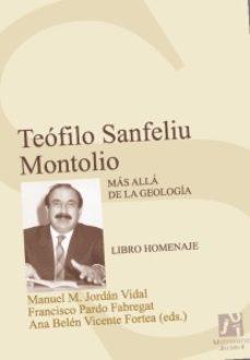 Portada de Teofilo Sanfeliu Montolio