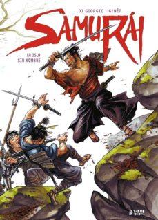 Portada de Samurai: La Isla Sin Nombre