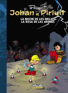 Portada de Johan Y Pirluit Nº 7: La Noche De Los Brujos / La Rosa De Las Arenas