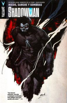 Portada de Shadowman Nº 4: Miedo, Sangre Y Sombras