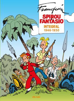 Portada de Spirou Y Fantasio Integral 1