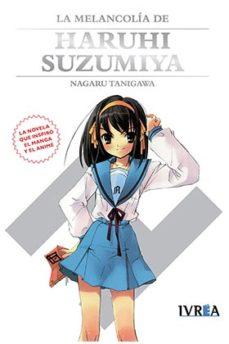 Portada de La Melancolia De Haruhi Suzumiya  (novela)