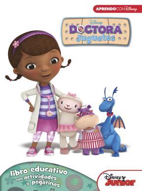 Portada de Doctora Juguetes (libro Educativo Disney Con Actividades Y Pegatinas)