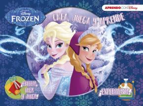 Portada de Frozen (crea, Juega Y Aprende Con Disney)