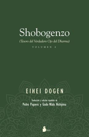 Portada de Shobogenzo (vol. 4): Tesoro Del Verdadero Ojo Del Dharma