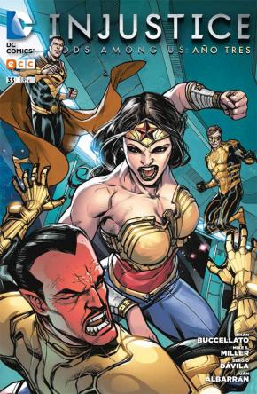 Portada de Injustice: Gods Among Us Nº 33