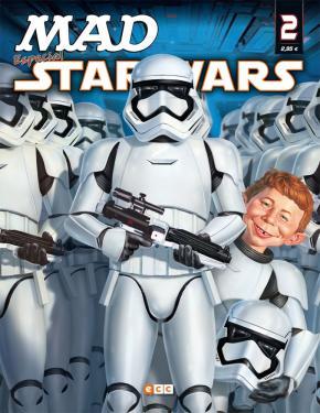 Portada de Mad: Especial Star Wars Nº 02