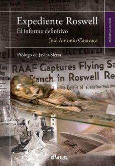 Portada de Expediente Roswell: El Informe Definitivo