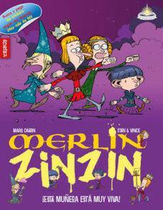 Portada de Merlin Zinzin 5: Esta Muñeca Esta Muy Viva