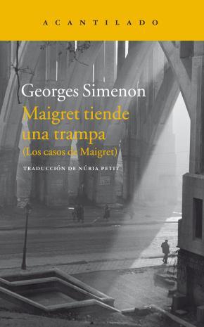 Portada de Maigret Tiende Una Trampa
