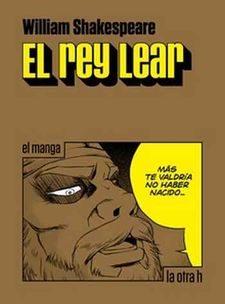 Portada de El Rey Lear: El Manga