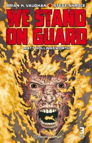 Portada de We Stand On Guard Nº 03/06