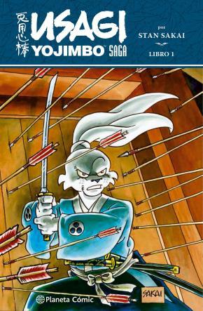 Portada de Usagi Yojimbo Saga Integral Nº 01