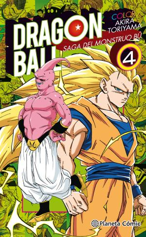 Portada de Dragon Ball Color Bu Nº04/06