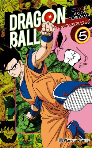 Portada de Dragon Ball Color Bu Nº05/06