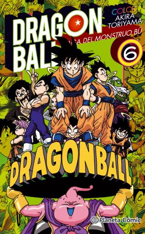Portada de Dragon Ball Color Bu Nº06/06