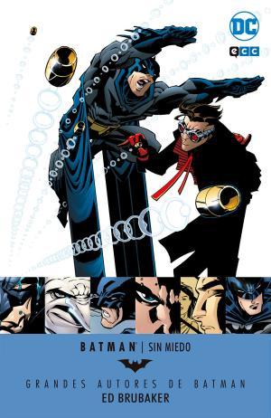 Portada de Grandes Autores De Batman: Ed Brubaker Sin Miedo
