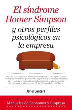 Portada de Sindrome De Homer Simpson Y Otros Perfiles Psicologicos En La Empresa